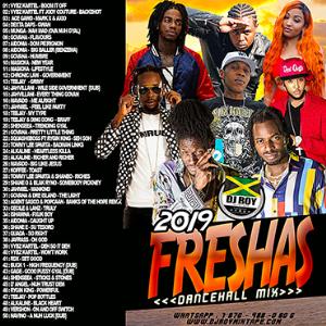 dj roy 2019 freshas dancehall mix
