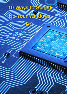 10 ways to speed up your windows pc