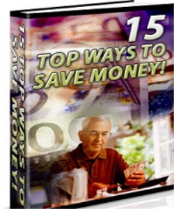 15 Ways To Save Money | eBooks | Business and Money