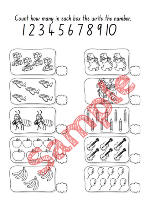 Third Additional product image for - Level 1 Workbook (3-4)