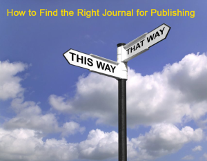 How to Find the Right Journal for Publishing? | eBooks | Business and Money