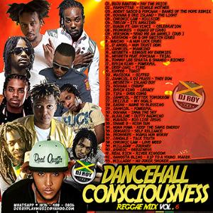 Dj Roy Dancehall Consciouness Reggae Mix Vol.6 | Music | Reggae