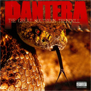 PANTERA The Great Southern Trendkill (1996) (EASTWEST RECORDS) (11 TRACKS) 320 Kbps MP3 ALBUM | Music | Rock
