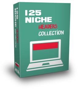 125 niche headers in .jpg format