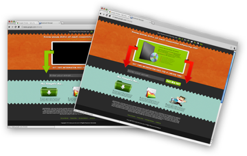 Third Additional product image for - 5 HTML-PSD Squeeze Pages