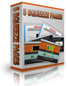 5 html-psd squeeze pages