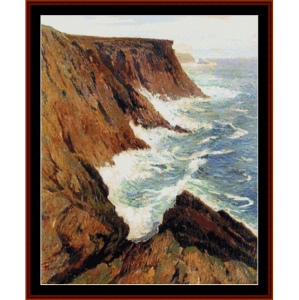 La Cote Sauvage, Croix - Moret cross stitch pattern by Cross Stitch Collectibles | Crafting | Cross-Stitch | Other