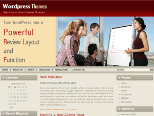 Second Additional product image for - 3 Blog Themes