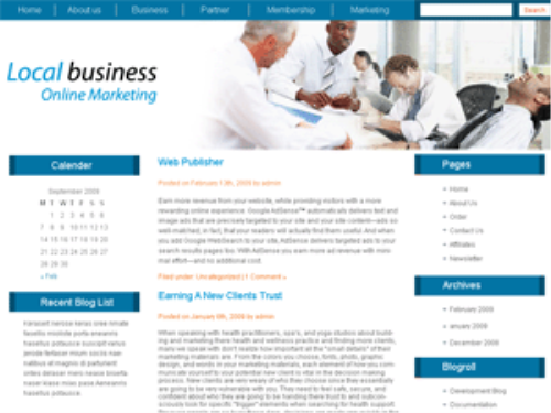 First Additional product image for - 5 Blog Themes
