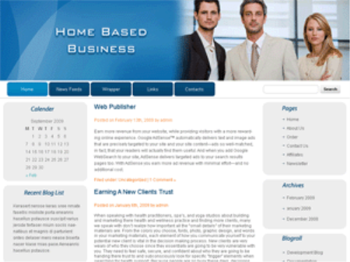 Third Additional product image for - 5 Blog Themes