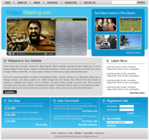 Second Additional product image for - 5 HTML Templates