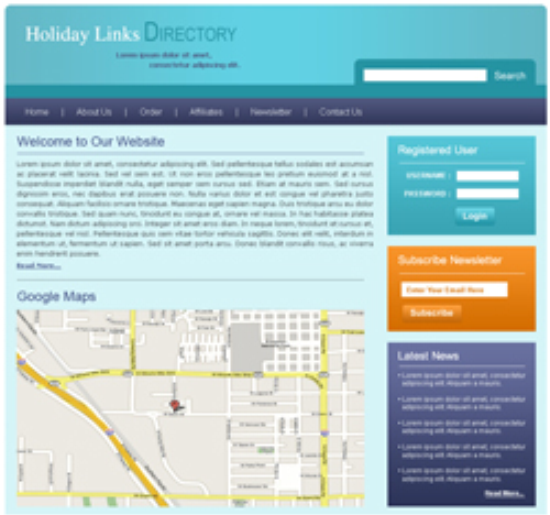 Third Additional product image for - 5 HTML Templates