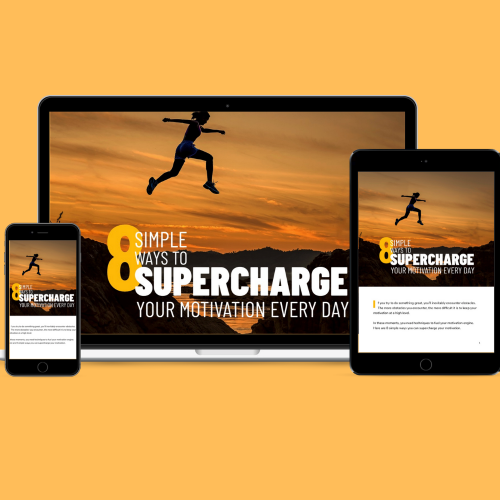First Additional product image for - 8 Simple Ways To Supercharge Your Motivation Every Day