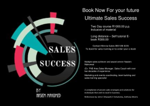 Sales Success | eBooks | Business and Money