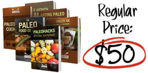 paleohacks cookbooks + primal sleep, 4 products, crazy conversions