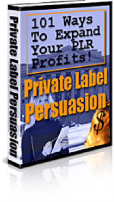 First Additional product image for - Private Label Persuasion