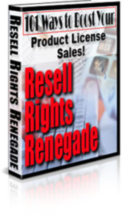 First Additional product image for - Resell Rights Renegade