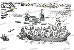 natives of new zealand oppose abel tasman, isaac gilsemans, 1642