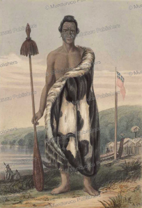 chief honiana te puni-kokopu, charles heaphy, 1839