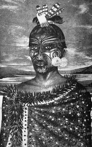 tattooing by mata-ora, john white, 1887