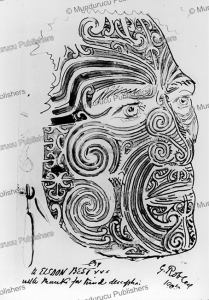 Moko drawn by General Robley, 1905 | Photos and Images | Travel