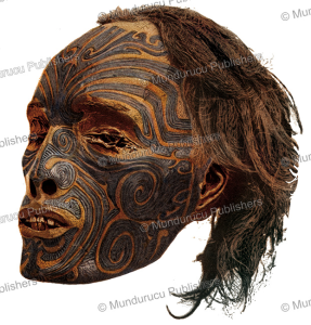 Preserved Maori head, Julius Bien, 1882 | Photos and Images | Travel