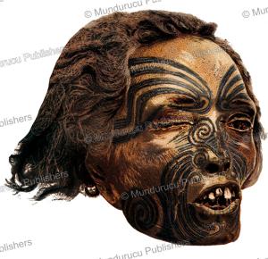 Preserved Maori head, Julius Bien, 1882 | Photos and Images | Travel
