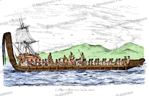 A canoe with natives of New Zealand, Sydney Parkinson, 1773 | Photos and Images | Travel