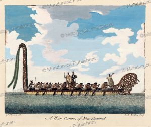 A war canoe of New Zealand, Sydney Parkinson, 1780 | Photos and Images | Travel