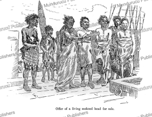 bargaining the sale of a moko, major-general robley, 1896