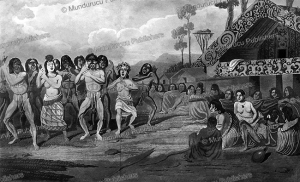 A Maori dance, Auguste Earle, 1832 | Photos and Images | Travel