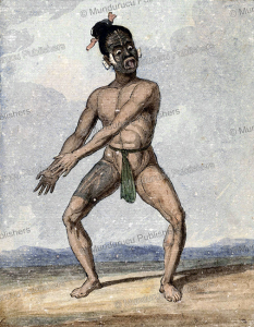 Maori performing the Haka, Augustus Earle, 1830 | Photos and Images | Travel