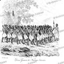 War dance by natives of New Zealand, Louis Auguste de Sainson, 1839 | Photos and Images | Travel