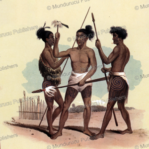 Maori spear ceremony, George French Angas, 1847 | Photos and Images | Travel