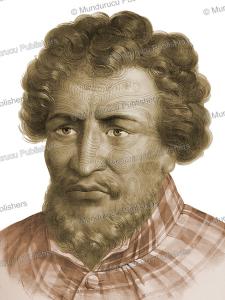 rangui, a chief of shouraki (coraki), louis auguste de sainson, 1833