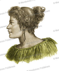 A Maori woman named The´aday, Louis Auguste de Sainson, 1833 | Photos and Images | Travel