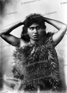 A Maori girl with a wakatehe design | Photos and Images | Travel