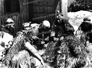 tattooing a maori chief