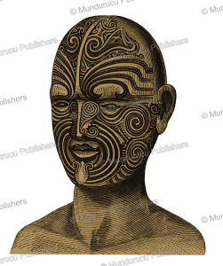 Wooden buste of Hongi Hika, carved by himself, 1816 | Photos and Images | Travel