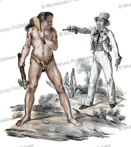 Man from New Zealand, Jacques Arago, 1823 | Photos and Images | Travel