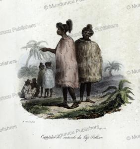 Dress of natives of Cape Palliser, Louis Auguste de Sainson, 1833 | Photos and Images | Travel
