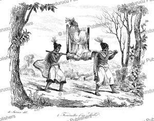 funeral of ariki, a native of new zealand, louis auguste de sainson, 1839