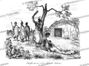 Human sacrifice in New Zealand, Louis Auguste de Sainson, 1839 | Photos and Images | Travel