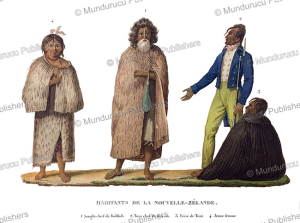 Natives of New Zealand, Jules Louis Lejeune, 1824 | Photos and Images | Travel