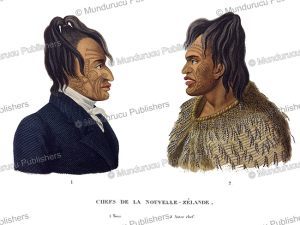 Chiefs from New Zealand, Jules Louis Lejeune, 1824 | Photos and Images | Travel