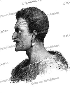 ikaitaitaki, a maori of tasman bay, louis auguste de sainson, 1833