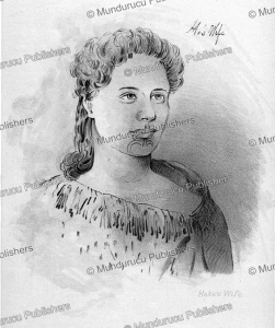 Heke's wife and daughter of Hongi, J.A. Gilfillan, 1843 | Photos and Images | Travel