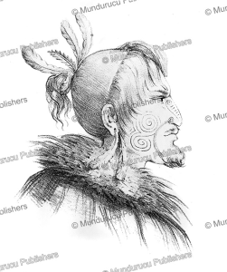 Native of New Zealand, Louis Auguste de Sainson, 1833 | Photos and Images | Travel