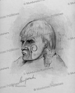 Maori chief Te Rauparaha, J.A. Gilfillan, 1843 | Photos and Images | Travel