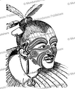 moko of a maori at poverty bay, h. ling roth, 1901